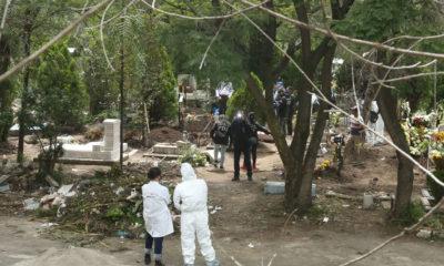 Buscan a jóvenes desaparecidos en panteón de Azcapotzalco