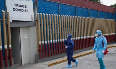 Alerta OPS por contagios de Covid en personal médico de México y EU