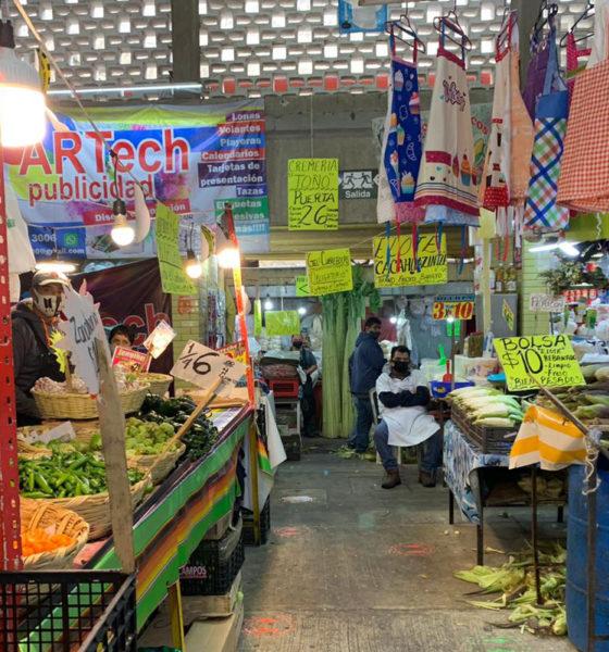 Comerciantes de la Merced registran pérdidas del 70% en sus ventas