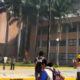 Normalistas destrozan el Congreso de Guerrero