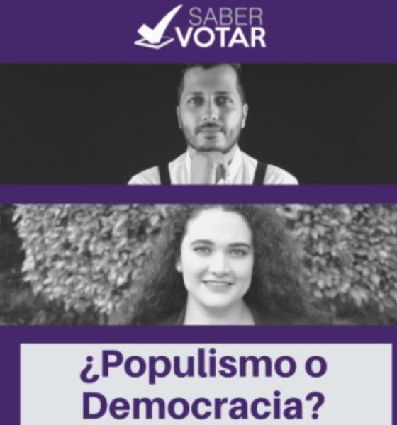 saber votar populismo y democracia