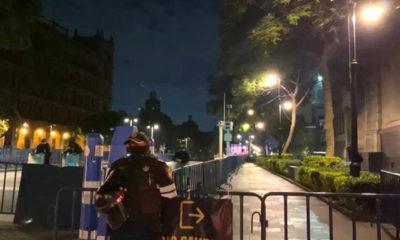 Suspenden servicio de estación Zócalo por tiempo indefinido