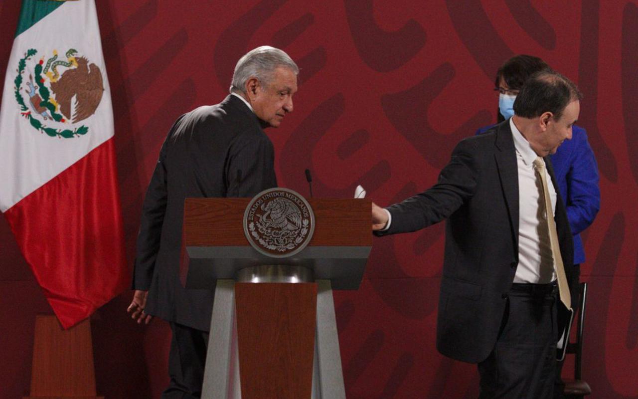 Busca AMLO mantener a Durazo en el gabinete frente a sus aspiraciones políticas