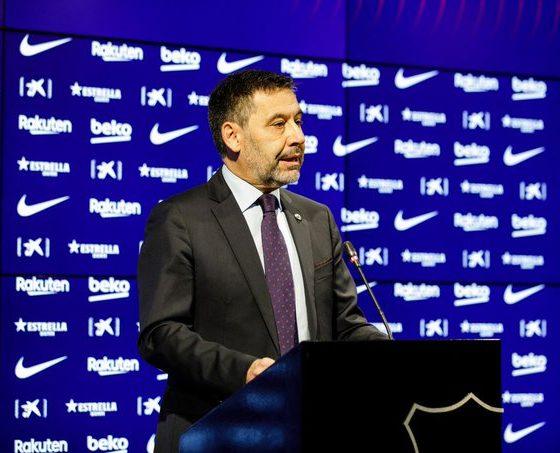 Bartomeu no le jugó chueco a Messi. Foto: Barcelona