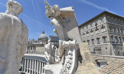 Caso positivo de Covid-19 en el Vaticano. Foto: Twitter VaticanNews