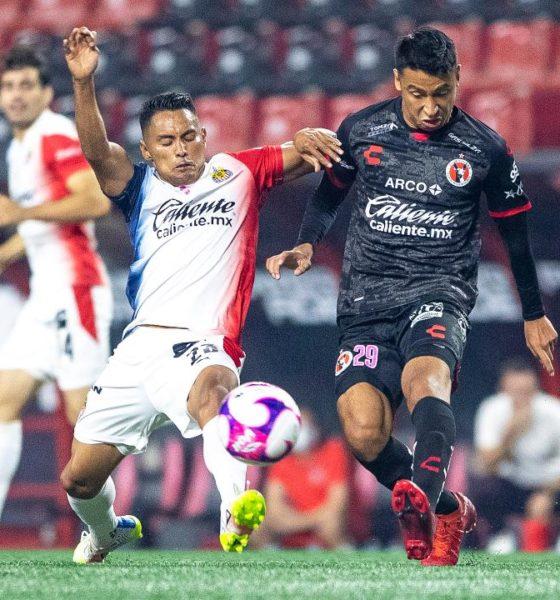Chivas y Xolos empataron. Foto: Liga MX -Imago7