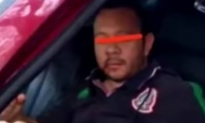 Conductor que atropelló a motociclista está en prisión. Foto: Twitter