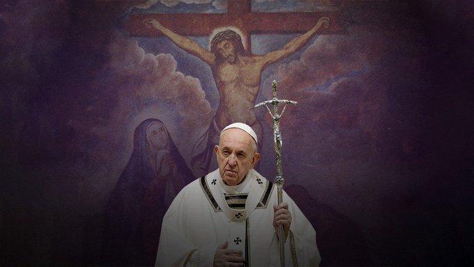 Critica el Papa a la autoridad que se alejó de la iglesia. Foto: Twitter Vatican News