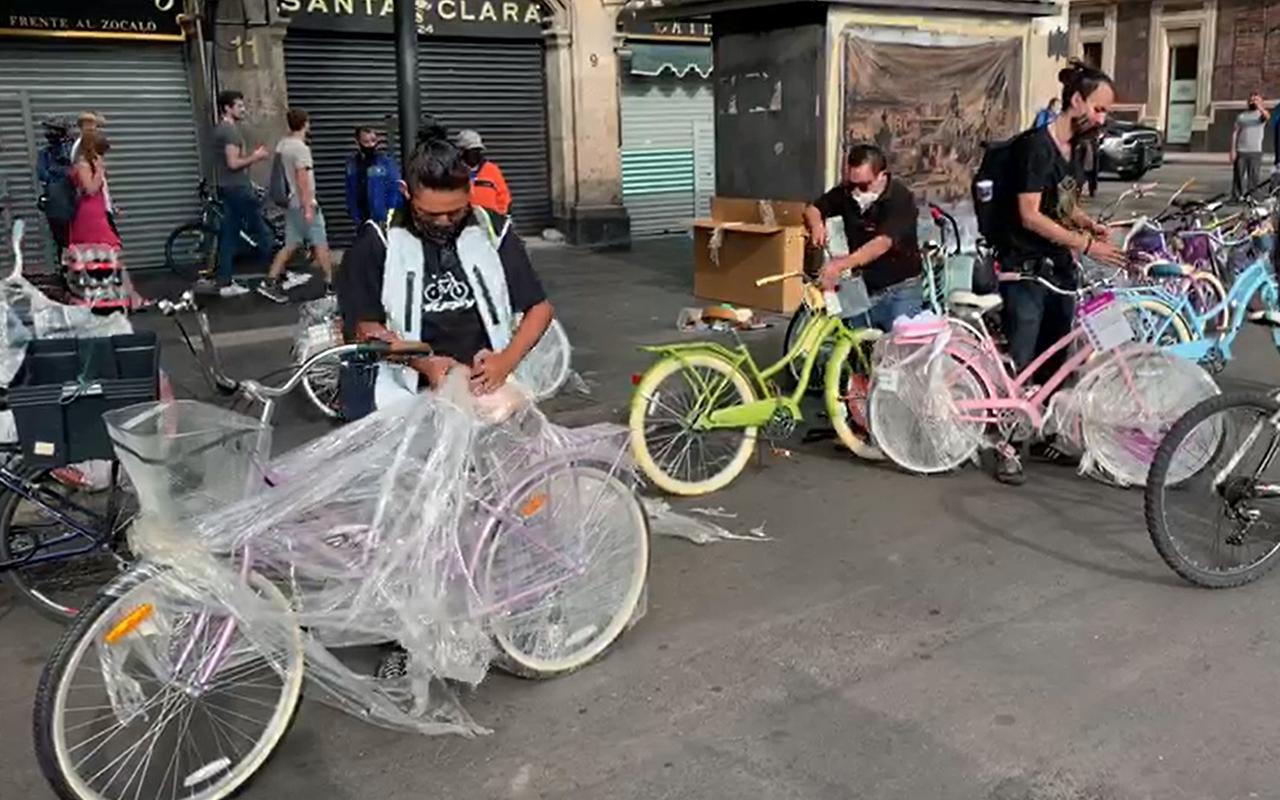 Diputados encabezan rodada ciclista por el Derecho a la Movilidad