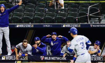 Dodgers se acera al título mundial. Foto: MLB