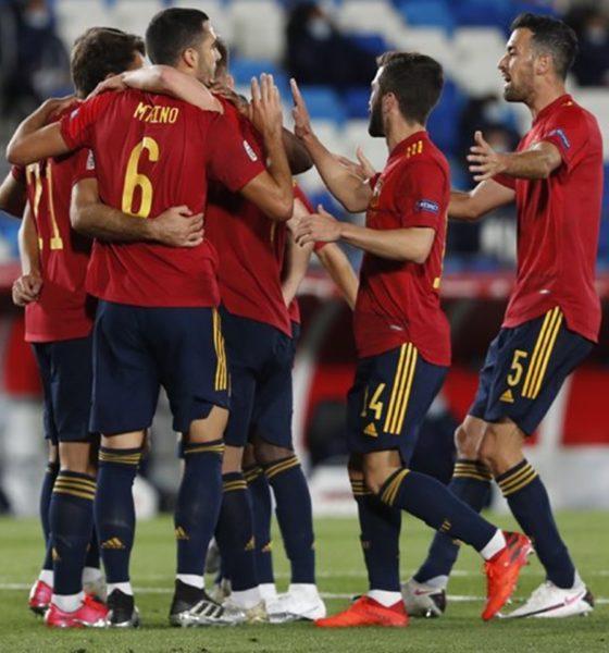 España domina la Liga de Naciones. Foto: Twitter España