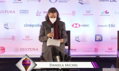 """Daniela Michel da a conocer que """"Amores Perros"""" abrirá el Festival de Cine de Morelia 2020"""