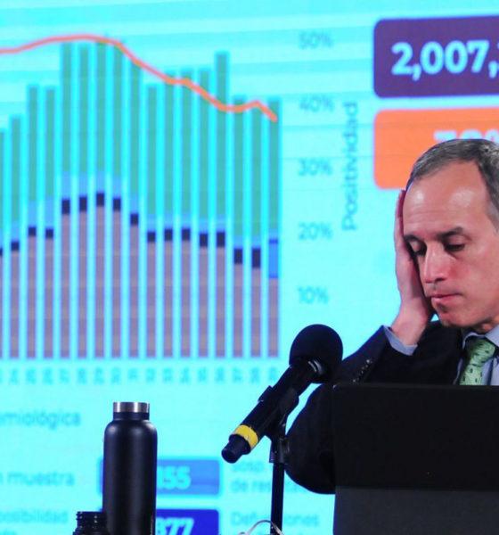 Niega López Gatell cifra récord de muertes por Covid en las últimas horas