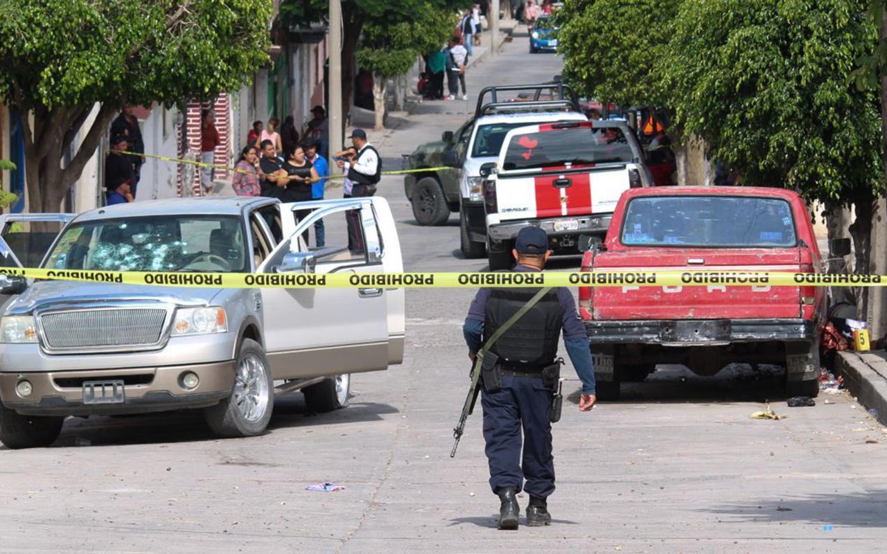 Enfrentamiento entre policías y grupo armado deja 6 muertos en Guanajuato