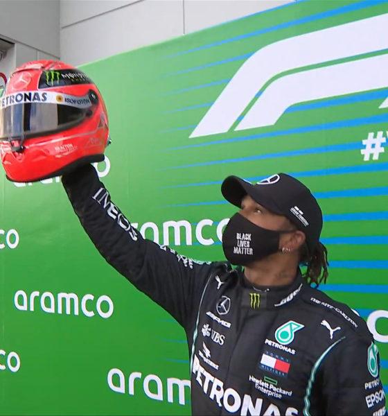Hamilton hizo historia en la fórmula 1. Foto: Twitter F1