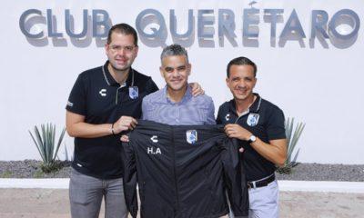 Héctor Altamirano, nuevo técnico de Querétaro. Foto: Twitter Querétaro