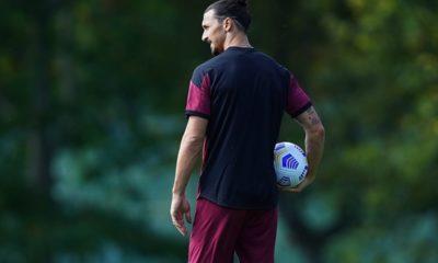 Ibrahimovic vence el Covid-19. Foto: Twitter Ibrahimovic