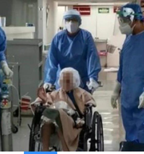 Mujer de 103 años se recupera de Covid-19. Foto: Gobierno de México