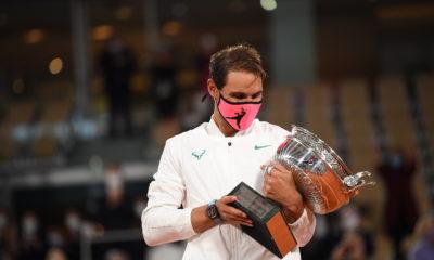 Nadal aplastó a Djokovic. Foto: Twitter Roland Garros