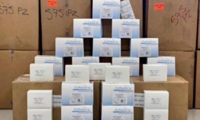 Decomisan miles de pruebas Covid en aduana de Chihuahua