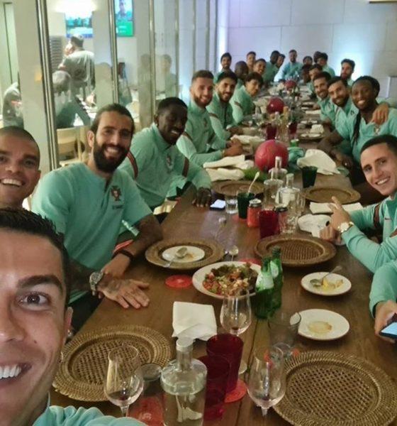 Preocupación por positivo de Cristiano Ronaldo. Foto: Twitter CR7