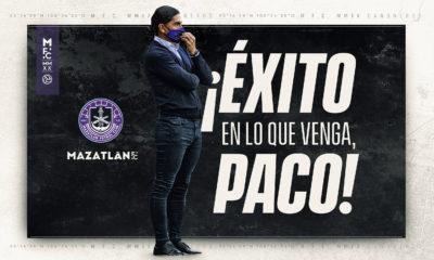 Queda Palencia fuera de Mazatlán. Foto: Twitter Mazatlán