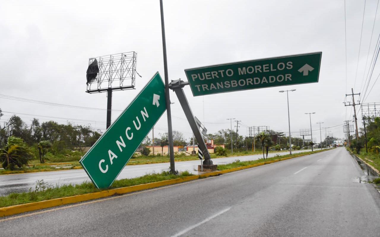 Delta se aleja de Quintana Roo y emiten alerta naranja