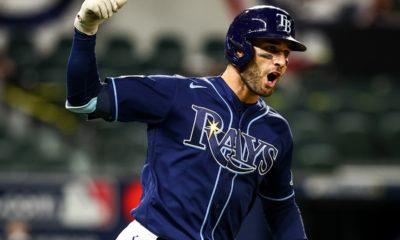Rays le pegó a los Dodgers. Foto: MLB