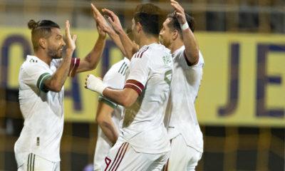 Sufrido empate de la selección mexicana. Foto: Twitter Mi selección