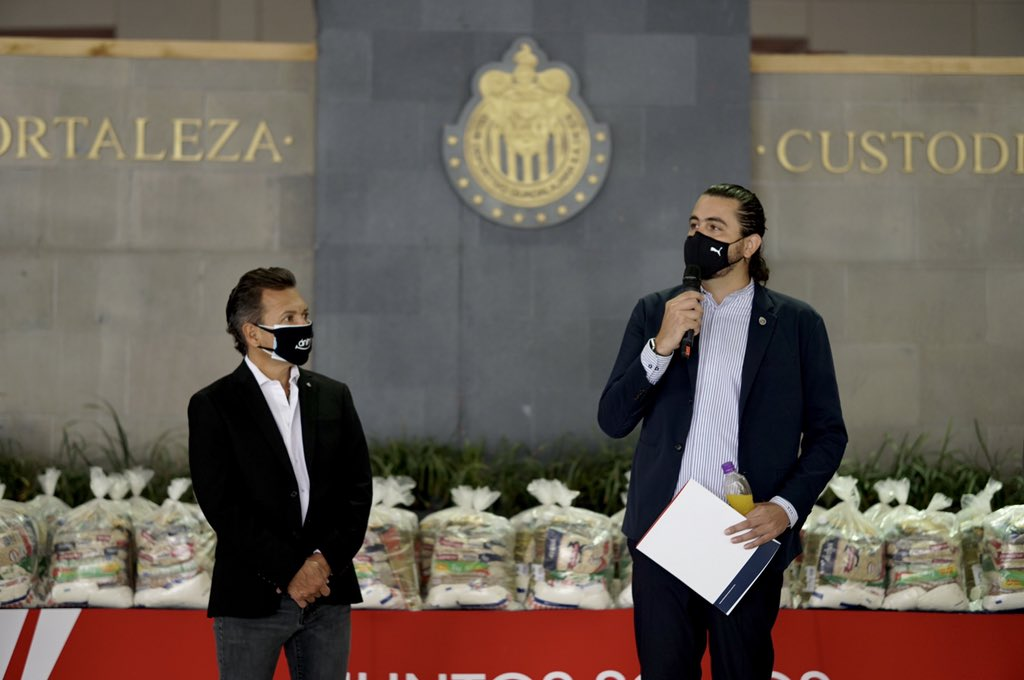 Reveló presidente de Chivas que sufrió de Covid-19. Foto: Twitter Amaury Vergara
