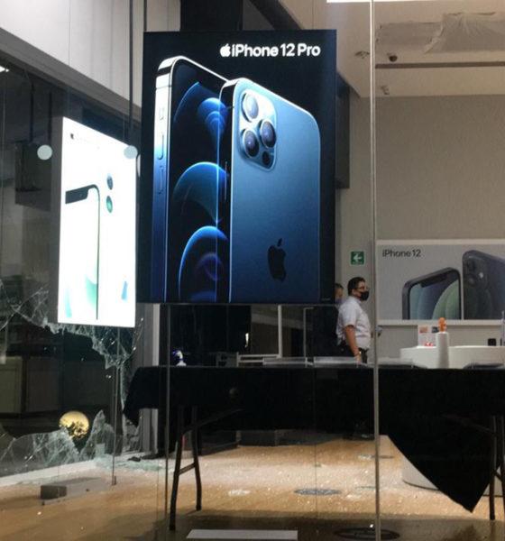 Asaltan tienda iShop y se llevan nuevo iPhone 12