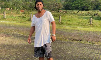 Ronaldinho Toluca. Foto: Twitter