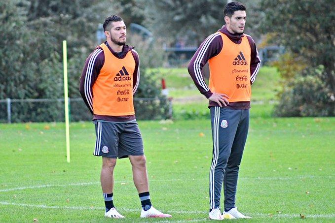 Selección mexicana enfrenta a Argelia. Foto: Twitter MISelección