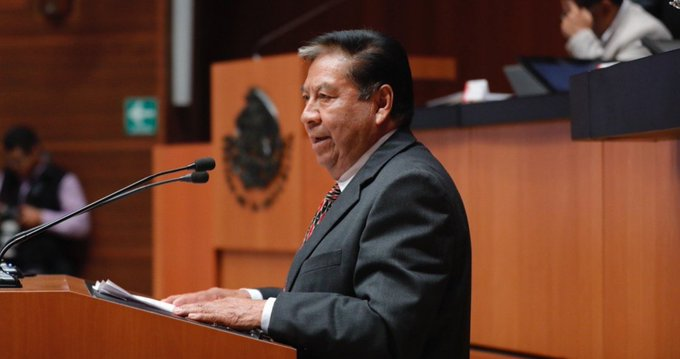 Senador de Morena perdió la batalla contra el Covid-19. Foto: Facebook