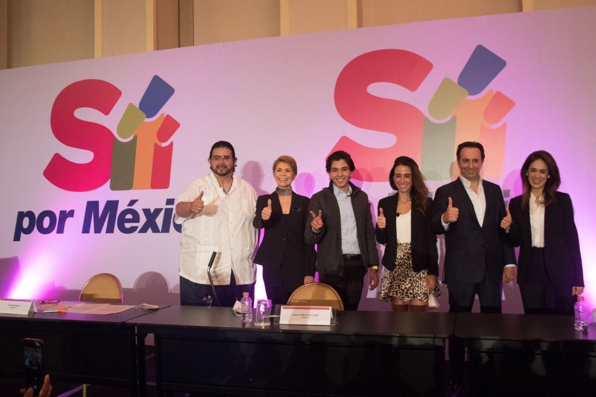 Presentan a Sí por México, es apartidista, pero no apolítica. Noticias en tiempo real