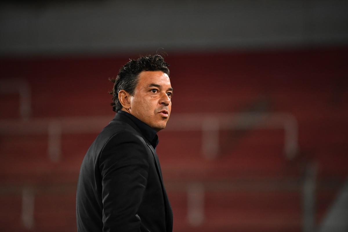 Técnico del River Plate aislado. Foto: River Plate