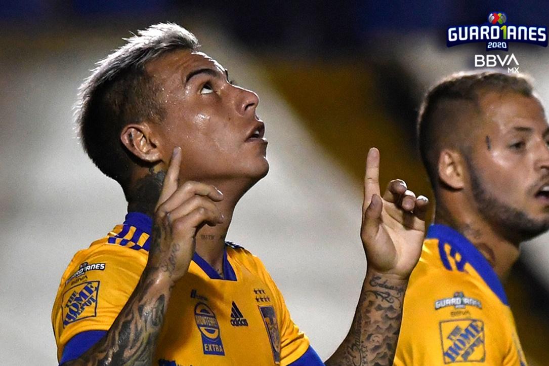 Tigres hunde a San Luis. Foto: Twitter Liga MX