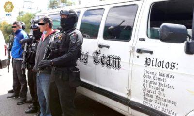 Detienen a dos presuntos ladrones de medicamentos oncológicos. Foto: Twitter