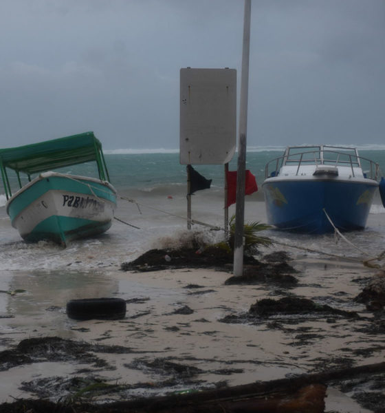 Saldo blanco por Huracán Zeta en Quintana Roo