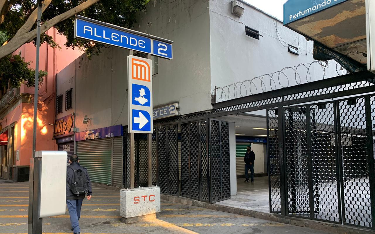 Reabre estación Allende de la Línea 2 del Metro