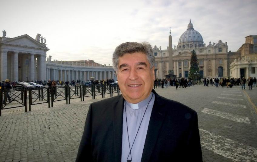 Para nombro cardenal a Felipe Arizmendi. foto: VC Noticias