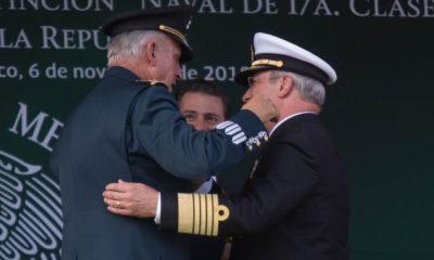 Imputan 5 cargos de narcotráfico al general Salvador Cienfuegos