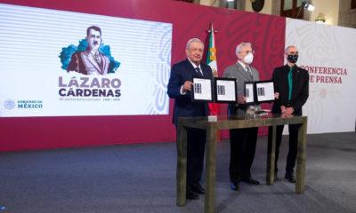 Emiten estampilla postal que conmemora el Aniversario luctuoso de Lázaro Cárdenas
