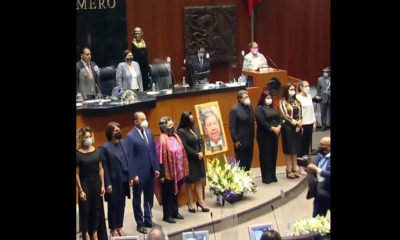 Rinden homenaje póstumo al senador Joel Molina
