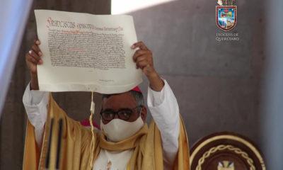 Asume López Plaza cátedra como décimo Obispo de Querétaro