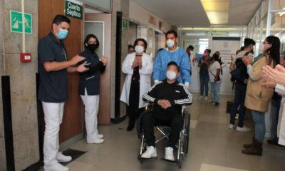 Paciente intubado le gana la batalla al Covid