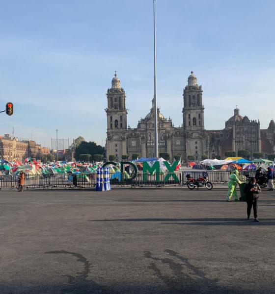 Regresa el libre paso a inmediaciones del Zócalo de la CDMX