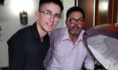 Amenazan de muerte a la persona que se tomó foto con Maradona. Foto: Twitter