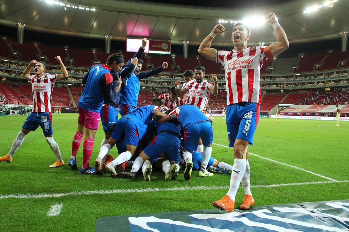 Así se jugarán los cuartos de final. Foto: Twitter Chivas