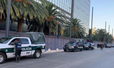 Blindan hoteles y comercios contra actos vandálicos de feministas